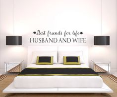 A personal favorite from my Etsy shop https://www.etsy.com/listing/263917801/best-friends-for-life-husband-and-wife