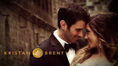 A CASTLE WEDDING IN GOLD AND BLACK: KRISTAN & BRENT