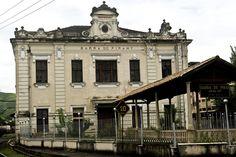 Barra do Piraí, RJ - Brasil  antiga estação ferroviária