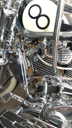 8Ball Harley softail springer