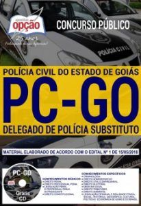 Apostila PC GO 2018 Delegado PDF Download