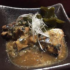 台の物 秋刀昆布煮 吃得出是新鮮秋刀魚不過鹹了一點點 #hkfood #foodie #japanesefood #kaisekiryori #kaiseki #sanma #pacificsaury by cat_kwc