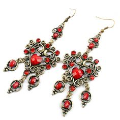 Vintage Bohemian Style Ethnic Earrings