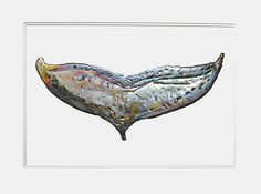 Ray Cox, Whale Tail, pewter on matte board, x Whale Tail, Newfoundland, Pewter, Decorative Bowls, Board, Artist, Tin Metal, Tin, Artists
