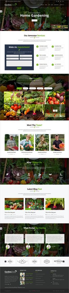 GardenZone is beautiful 5in1 responsive #HTML5 bootstrap template for flowers #gardening, #vegetable #planting and landscaping service websites download now➩ https://themeforest.net/item/gardanzone-gardning-for-flowersfruitsvagitable-planting-landscaping-responsive-template/19306685?ref=Datasata