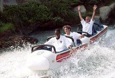 Landon Donovan en Disneyland en el 99