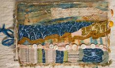 DJ Pettitt. Absolutely ADORE her journals/ fabric work.