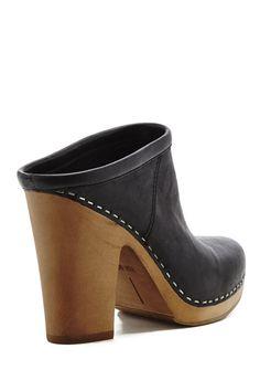 Ackley Heels, also in brown, $170 | Moorea Seal