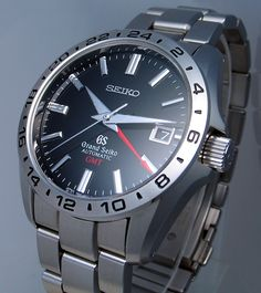 Didn't even know Seiko made watches this nice -- Grand Seiko GMT