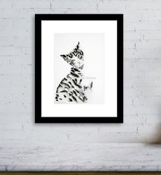 Buy Cat in Ink - Did you call me? Painting by Art by Aashaa on Artfinder. Discover thousands of other original paintings, prints, sculptures and photography from independent artists. Small Wall Decor, Original Art, Original Paintings, Lovers Art, Cat Lovers, Buy A Cat, You Call, I Love Cats, Impressionist