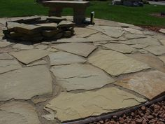 stone patio ideas everybody wants to change their home a little from time to time - Flagstone Patio Designs