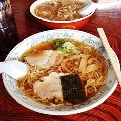 米沢さ来たら 中華そば食わんなんねべぇ♪  東部食堂、相変わらず美味い!  #米沢 - @mizutamahanco- #webstagram