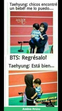 Solo memes de BTS y de TXT UwU # Humor # amreading # books # wattpad Bts Taehyung, Bts Bangtan Boy, Bts Jimin, Frases Bts, S Videos, K Pop, Army Memes, Vkook Memes, Bts Meme Faces