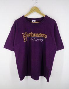 b4ac337e4ea0 Champion Shirt Vintage Champion Northeastern University T 90s Champion  Northeastern University Vintage Made In USA T Shirt Mens Size L