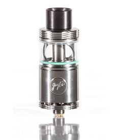 The Wismec Cylin RTA, designed by JayBo, is a unique tank/RDA design. The base is an RDA that utilizes a single coil, with dual slots hitting both sides of the coil, improving flavor and vapor production.