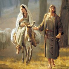 lessons of christmas: joseph and mary