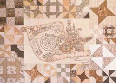 Crabapple Hill SPELLBOUND Stitchery Quilt Pattern #CrabappleHill