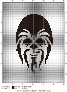 Star Wars Crochet, Pixel Crochet, Crochet Stars, Cross Stitch Designs, Cross Stitch Patterns, Cross Stitching, Cross Stitch Embroidery, Star Wars Crafts, Graph Paper Art