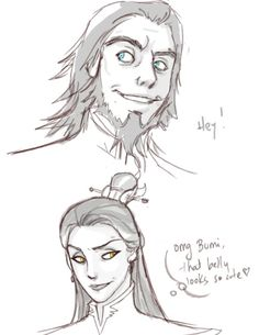 Young Bumi and Izumi (Honora)