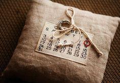 ring bearer pillow...could be DIY?