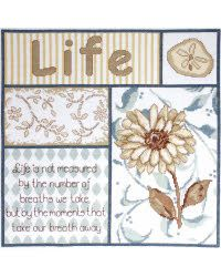 TOBIN-Counted Cross Stitch.  Beautiful designs and top quality materials make Tobin one of the top Cross stitch kit makers world wide.  This kit…