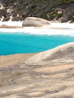 Two People's Bay National Park, Albany, Western Australia. Little Beach's turquoise waters.