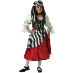 Pirate Girl Elite Collection Child Costume from Buycostumes.com