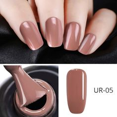 Semi-permanent varnish, false nails, patches: which manicure to choose? - My Nails Gel Polish Colors, Uv Gel Nail Polish, Uv Gel Nails, Nail Colors, Acrylic Nails, My Nails, Marble Nails, French Nails, Uñas Color Cafe