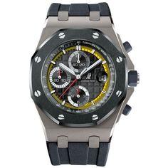 Audemars Piguet    Royal Oak Offshore Sébastien Buemi Limited Edition watch.