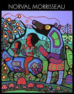 We are gods within ourselves Fish and loons of Lake Nipigon Bird speaks to these children Children of light and sound Woodland creatures Sermon to the birds 6 works by NorvalMorrisseau Woodland Art, Haida Art, Native American Artists, Canadian Art, Indigenous Art, Native Art, Teaching Art, Doodle Art, Art Lessons