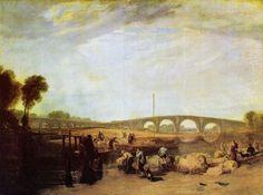 Turner, Joseph Mallord William: Die Walton-Brücken (Walton Bridges)