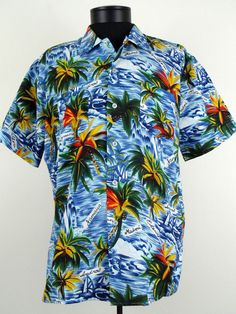Sir Clifford Holiday Wear Hawaiian Shirt Vintage Size XL Colorful Polyester  #Shopping #Style #Fashion http://www.ebay.com/itm/-/271532368132?roken=cUgayN via @eBay