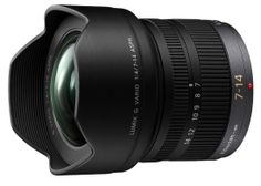 Panasonic 7-14mm F4 H-F007014 Lens MXN 14900.00
