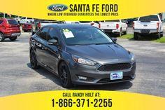 Used 2016 Ford Focus SE FWD Sedan For Sale Gainesville FL - 39695Q Used Ford Focus, Santa Call