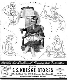 S.S. Kresge Stores 1943 by army.arch, via Flickr