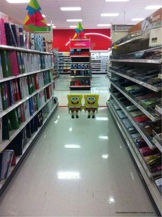 Possibly scariest thing to turn around and see in Target.