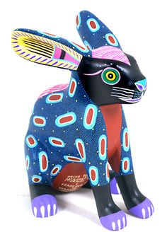 Sculpture - Oaxacan Alebrije of july nail ideas - Nail Ideas Chia Pet, 6th Grade Art, Paper Mache Crafts, Sugar Skull Art, Colorful Animals, Arte Popular, Naive Art, Mexican Folk Art, Ceramic Art