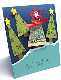 Cute way to give money instead of stuffing it in a card