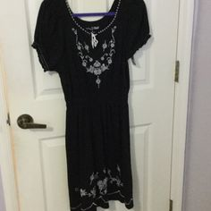 RXB dress new with tags Adorable cotton modal dress I have too much stuff gotta clean out. Smoke free home R X B Dresses