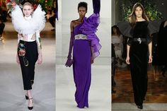 Viktor & Rolf, Alexis Mabille, Francesco Scognamiglio  On the couture runways this week, the over-the-top glitz of the '80s was spotted