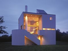 Robert and Rosalie Gwathmey Residence and Studio Designed by Charles Gwathmey Amagansett, New York