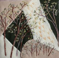 Stitched woodland theme