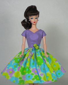Who's That Girl Vintage Barbie Doll Dress Reproduction Barbie Clothes Fashion | eBay