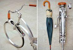 Sada Bike - Bicicleta dobrável q fica do tamanho de um guarda-chuva
