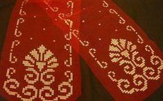 yaldızlı tel kırma konsol örtüsü örneği