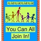 """YOU CAN ALL JOIN IN!"" - BRING KIDS TOGETHER WITH A GROUP GAME!  ""Hey, friend!  Where ya been?  You can all join in!  You can all join in!""  Start your activities with a bonding GROUP GAME where everyone is recognized and included.  Keep the beat with a strong rhythm pattern and funny active ""moves""!  Add shakers or make your own-- directions included."