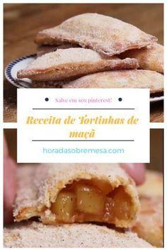 Tortinhas de maçã | Hora da Sobremesa Churros, Cookie Recipes, Dessert Recipes, Italian Desserts, Cupcakes, Food Hacks, Baked Goods, Sweet Recipes, Vegetarian Recipes