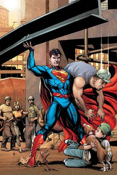 """The Action Comics variant cover features Gary Frank's take on Superman in his """"New costume. The artist is best known for his collaboration with Geoff Johns on the likes of Superman: Secret Origin. Batman E Superman, Superman Family, Superman Man Of Steel, Superman Stuff, Marvel Vs, Marvel Comics, Marvel Women, Arte Dc Comics, Comic Book Artists"""