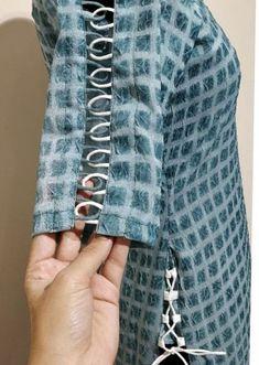 Salwar Neck Designs, Neck Designs For Suits, Sleeves Designs For Dresses, Dress Neck Designs, Kurta Designs Women, Fancy Blouse Designs, Sleeve Designs, Latest Dress Design, Long Dress Design