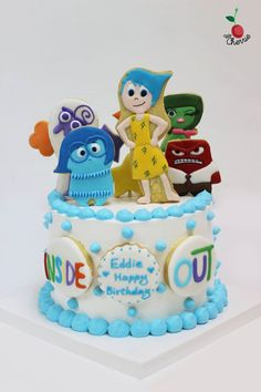 Inside Out Cake Inside Out Cookies